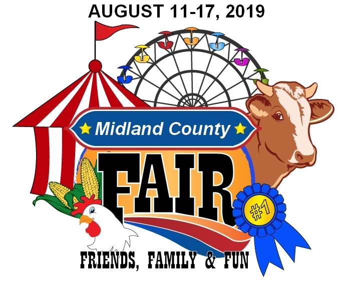Midland County Fair - August 11-17, 2019 @ Midland County Fairgrounds - Merchant Building #25 | Midland | Michigan | United States