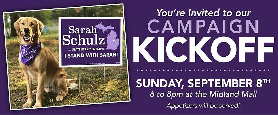 Sarah Schulz 2020 Campaign Kickoff @ Midland Mall | Midland | Michigan | United States
