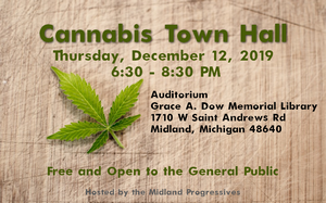 Cannabis Town Hall @ Grace A. Dow Memorial Library | Midland | Michigan | United States