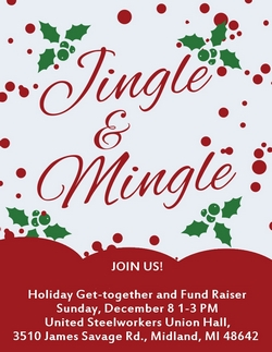 MCDP Jingle Mingle/Singalong @ United Steelworkers Union Hall | Midland | Michigan | United States