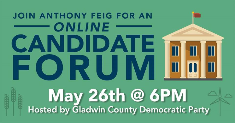 Anthony Feig for Congress - Virtual Candidate Forum