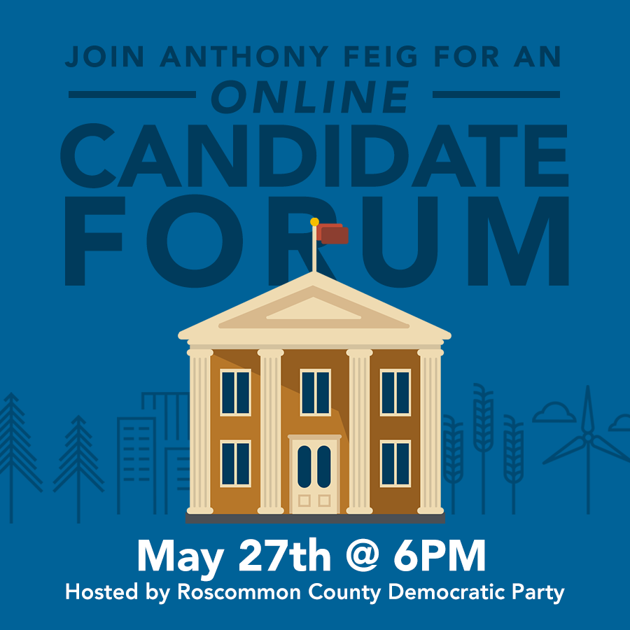 Anthony Feig for Congress – Virtual Candidate Forum